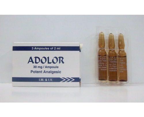 b3cb7f47a سعر ومواصفات حقن ADOLOR أدولور مسكن للألم