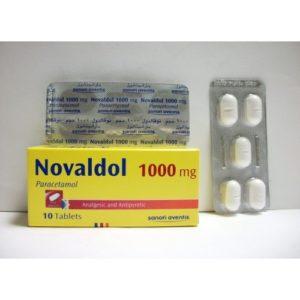 اقراص NOVALDOL مسكن وخافض للحرارة
