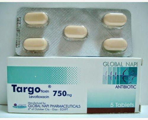 سعر ومواصفات اقراص Targofloxin تارجو فلوكسين مضاد حيوي واسع المدي