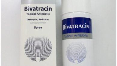سبراي BIVATRACIN بيفاتراسين مضاد حيوي لعلاج إلتهابات الجلد والجروح