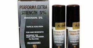 بخاخ PERFORMA EXTRA بيرفورما اكسترا لعلاج تساقط الشعر