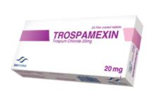 أقراص TROSPAMEXIN تروسبامكسين لعلاج سلس البول