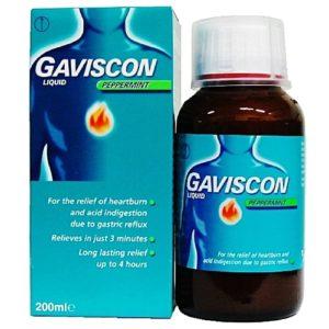 سعر ومواصفات أقراص وشراب Gaviscon جافيسكون لعلاج الحموضة وحرقة المعدة