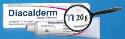 مرهم DIACALDERM دياكالديرم لعلاج الصدفية والاكزيما
