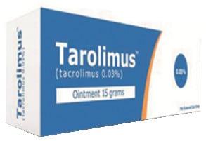 مرهم TAROLIMUS تاروليمس لعلاج التهابات الجلد