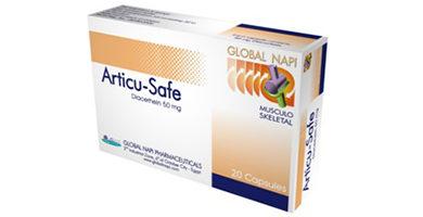 أقراص ARTICU SAFE أرتيكوسيف لعلاج ضمور والتهابات المفاصل