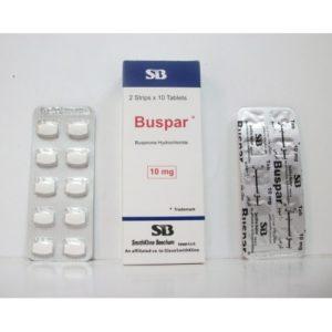 أقراص BUSPAR بوسبار مهدئ لعلاج القلق والتوتر العصبي