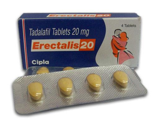 أقراص ERECTALIS اريكتالس لعلاج ضعف الانتصاب