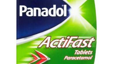 بنادول أكتيفاست Panadol Actifast مسكن للآلام وخافض للحرارة