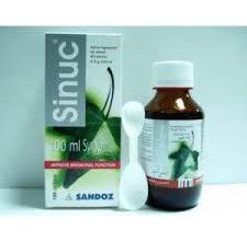 شراب SINUC سينوك لعلاج نزلات البرد والإنفلونزا