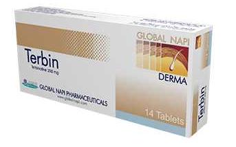 سعر و مواصفات تيربين لعلاج الفطريات و التهابات الجلد
