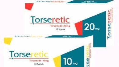 أقراص TORSERETIC تورسيريتيك لعلاج ضغط الدم المرتفع
