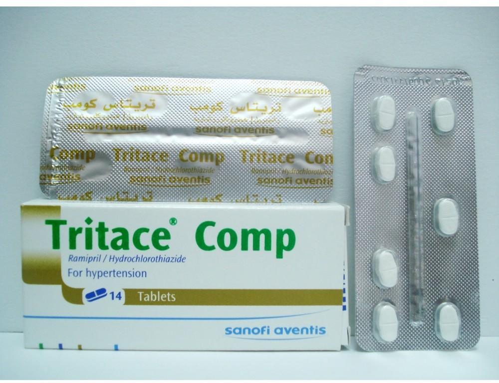 أقراص TRITACE COMP لعلاج ارتفاع ضغط الدم