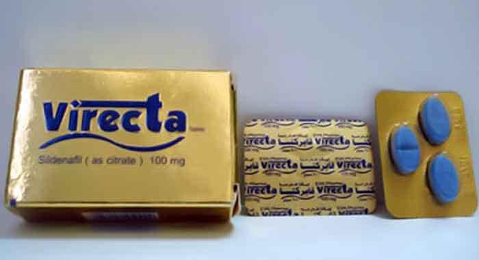 أقراص VIRECTA فايركتا لعلاج الضعف الجنسي وضعف الانتصاب
