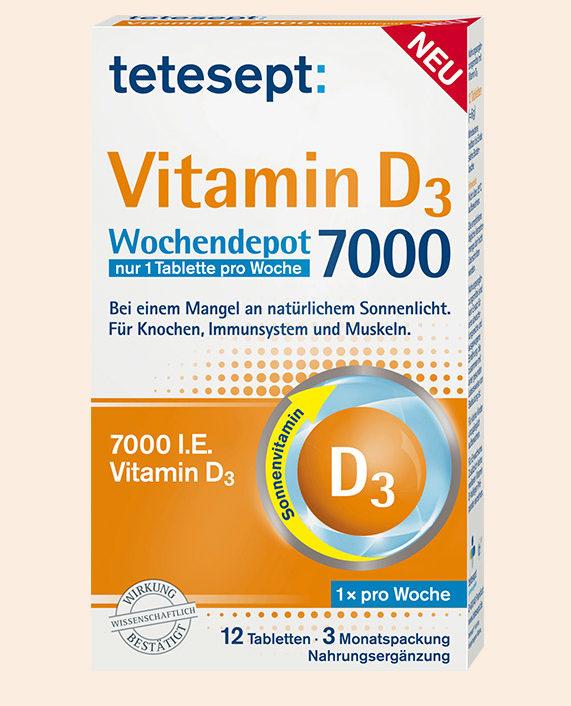 أقراص VITAMIN - D3 فيتامين د 3