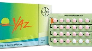 أقراص YAZ ياز لمنع الحمل