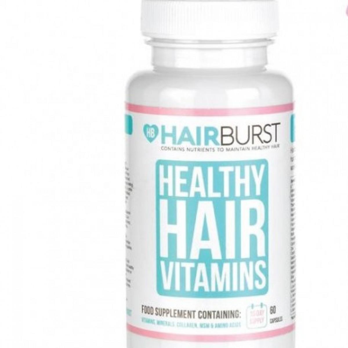 HAIRBURST هيربرست كبسولات لإطالة وتغذية الشعر