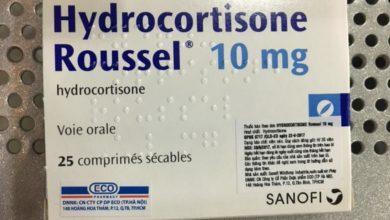 HYDROCORTISONE - ROUSSEL هيدروكورتيزون روسيل
