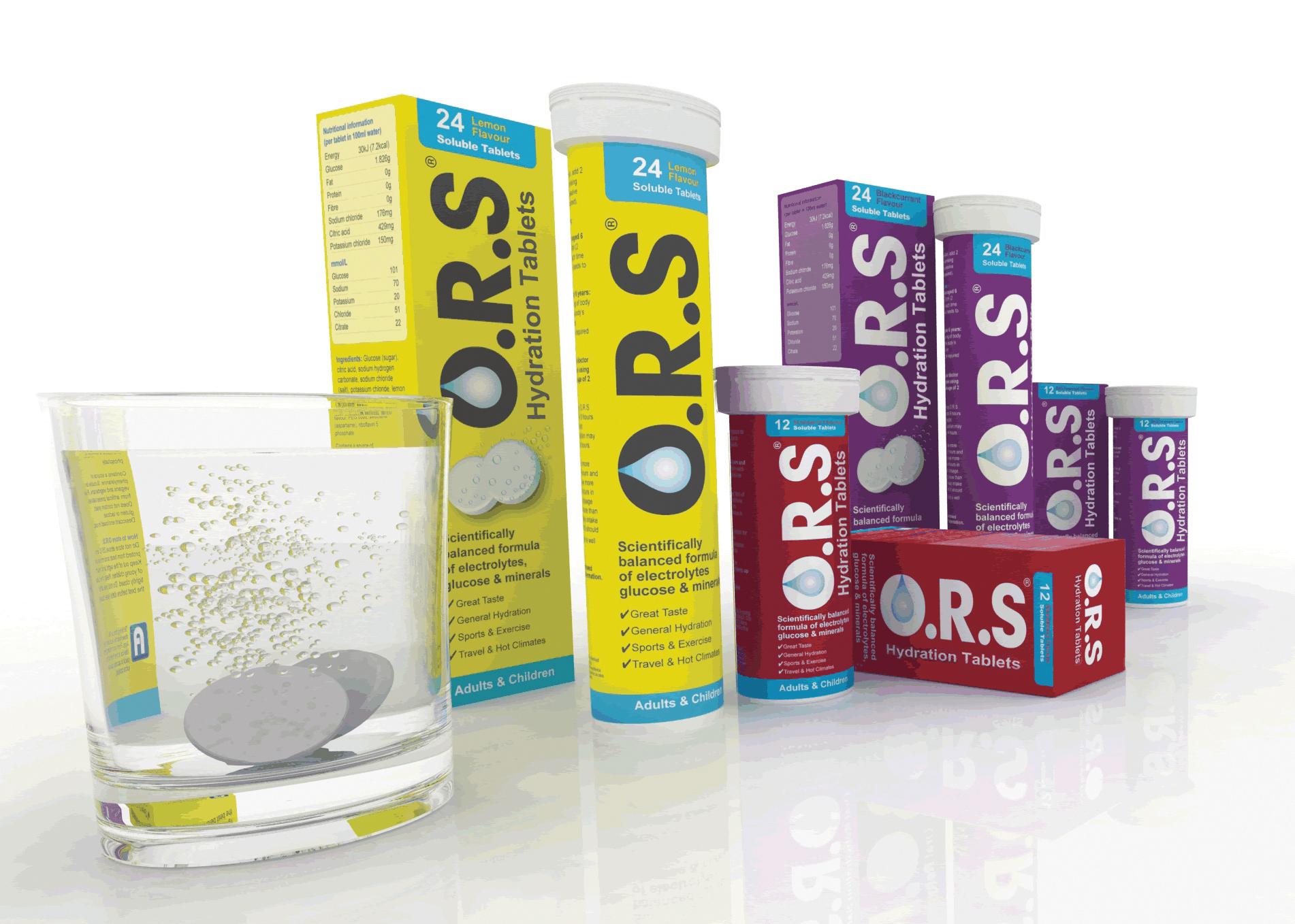 O R S لمعالجة الجفاف