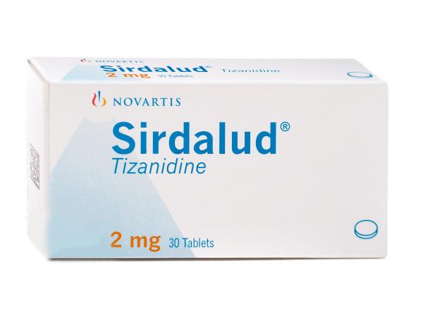 أقراص SIRDALUD سيردالود لعلاج التقلصات العضلية