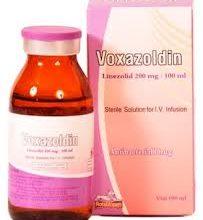 VOXAZOLDIN فوكسازولدين محلول للحقن الوريدي