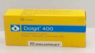 أقراص DOLGIT دولجت مسكن للألم ومضاد للالتهاب وخافض للحرارة