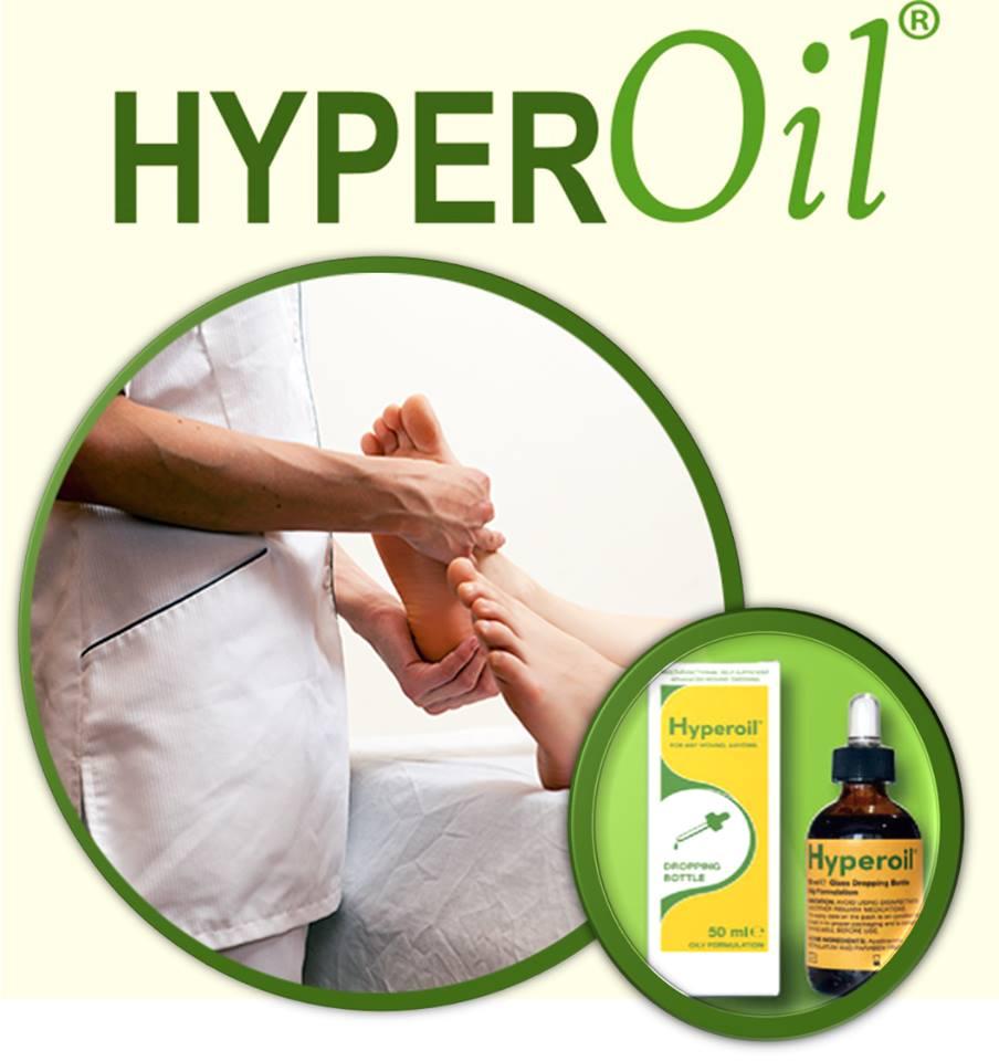 دواء HYPEROIL هايبر اويل لعلاج قرح القدم السكري