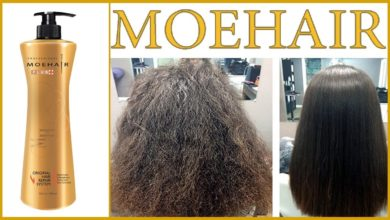 زيت MOHAIR موهير لعلاج تساقط وخشونة الشعر