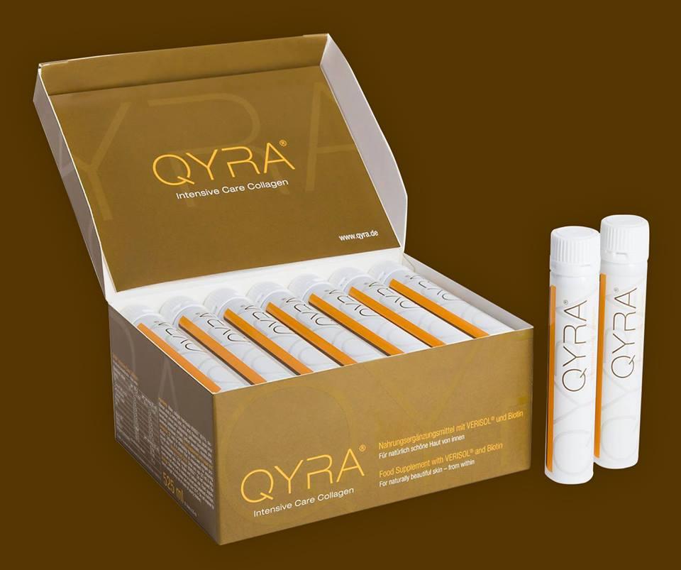 سعر ومواصفات QYRA كيرا فيالات للشرب لعلاج التجاعيد