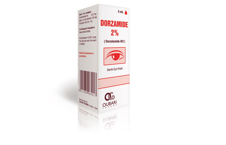قطرة عيون DORZOLAMIDE دورزولاميد لعلاج ارتفاع ضغط العين
