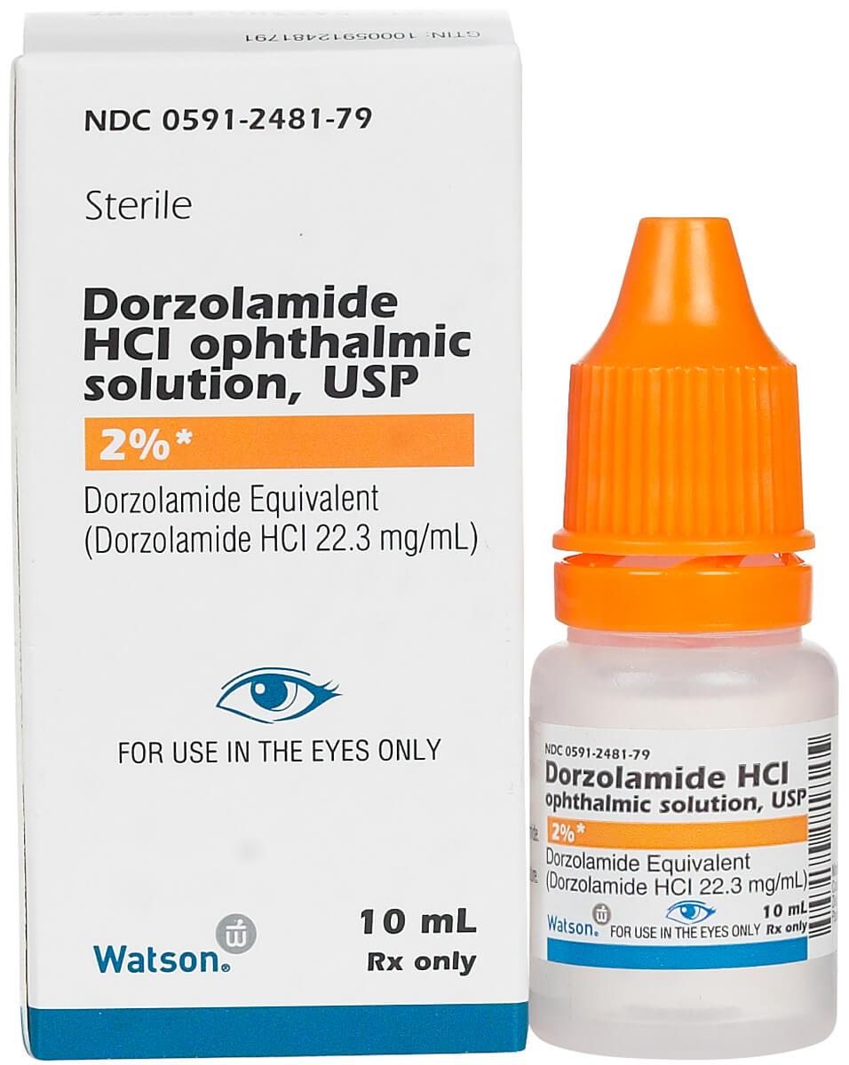 قطرة DORZOLAMIDE دورزولاميد لعلاج ارتفاع ضغط العين
