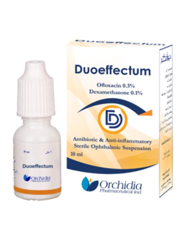 قطرة DUOEFFECTUM ديوافكتم محلول معقم للعين مضاد حيوي ومضاد للالتهاب