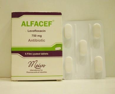 عبوة دواء ALFACEF