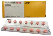 ANAFRANIL أنافرانيل أقراص لعلاج الاكتئاب وسرعة القذف