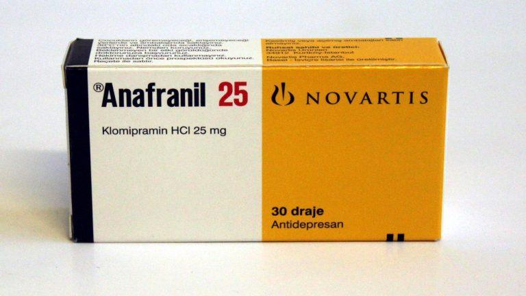 ANAFRANIL أنافرانيل أقراص