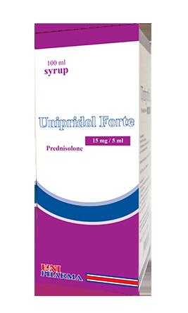 يونبيريدول فورت شراب لعلاج مرض الربو الحاد عند الأطفال