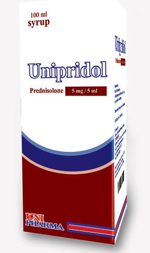 يونبيريدول شراب لعلاج مرض الربو الحاد عند الأطفال