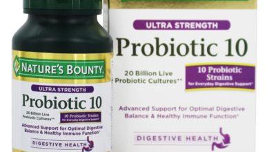 أقراص PROBIOTIC بروبيوتيك بكتريا نافعة لصحة الجهاز الهضمي