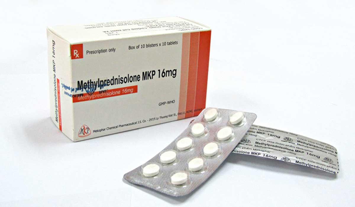 دواء METHYLPREDNISOLONE ميثيل بريدنيزولون مضاد للالتهاب وعلاج اضطراب الغدد الصماء
