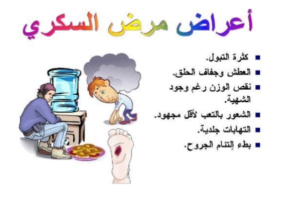 اعراض الاصابة بالسكر