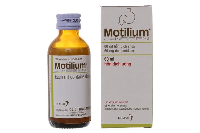 موتيليوم شراب معلق لعلاج القيء والغثيان