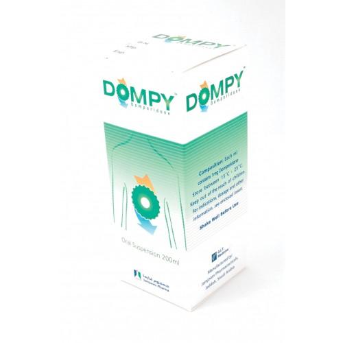دواء دومبي شراب لعلاج الحموضة والانتفاخ وعسر الهضم