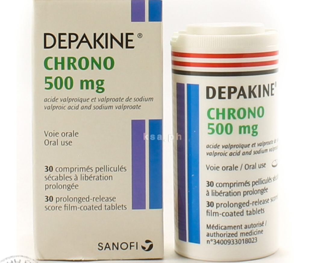 سعر ومواصفات دواء ديباكين كرونو لعلاج القلق والاكتئاب ونوبات الصرع