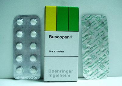 دواء buscopan لعلاج القولون العصبي