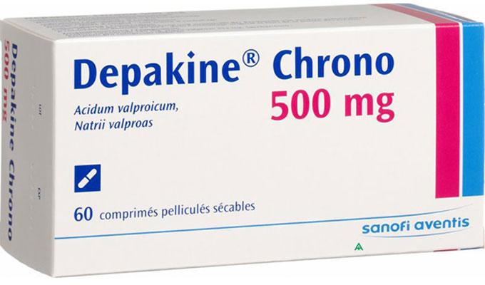 ديباكين كرونو أقراص لعلاج الصرع والاكتئاب