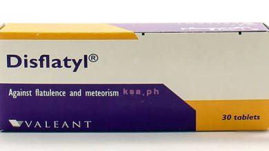 ديسفلاتيل اقراص لعلاج الانتفاخ وعسر الهضم