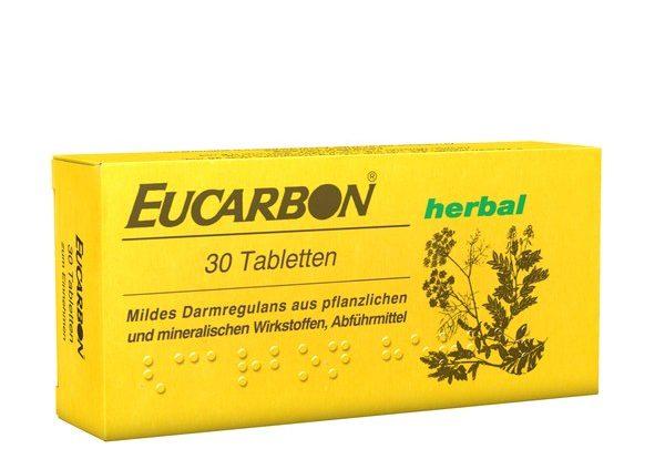 أوكاربون أقراص لعلاج الغازات والانتفاخ والإمساك وتقلصات المعدة