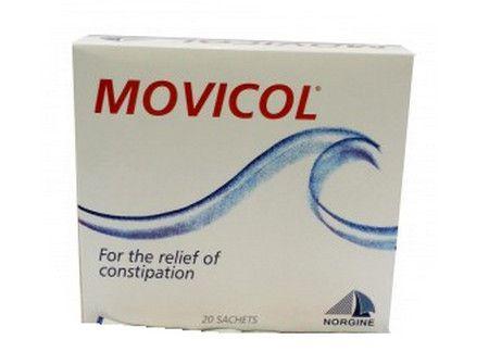 دواء موفيكول يعمل على علاج الامساك الحاد