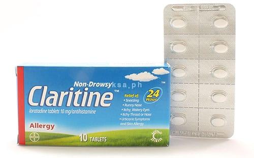 كلاريتين من افضل الادوية في علاج اعراض الحساسية المختلفة