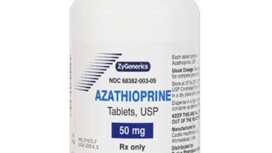 ازاثيوبرين لعلاج امراض المناعة
